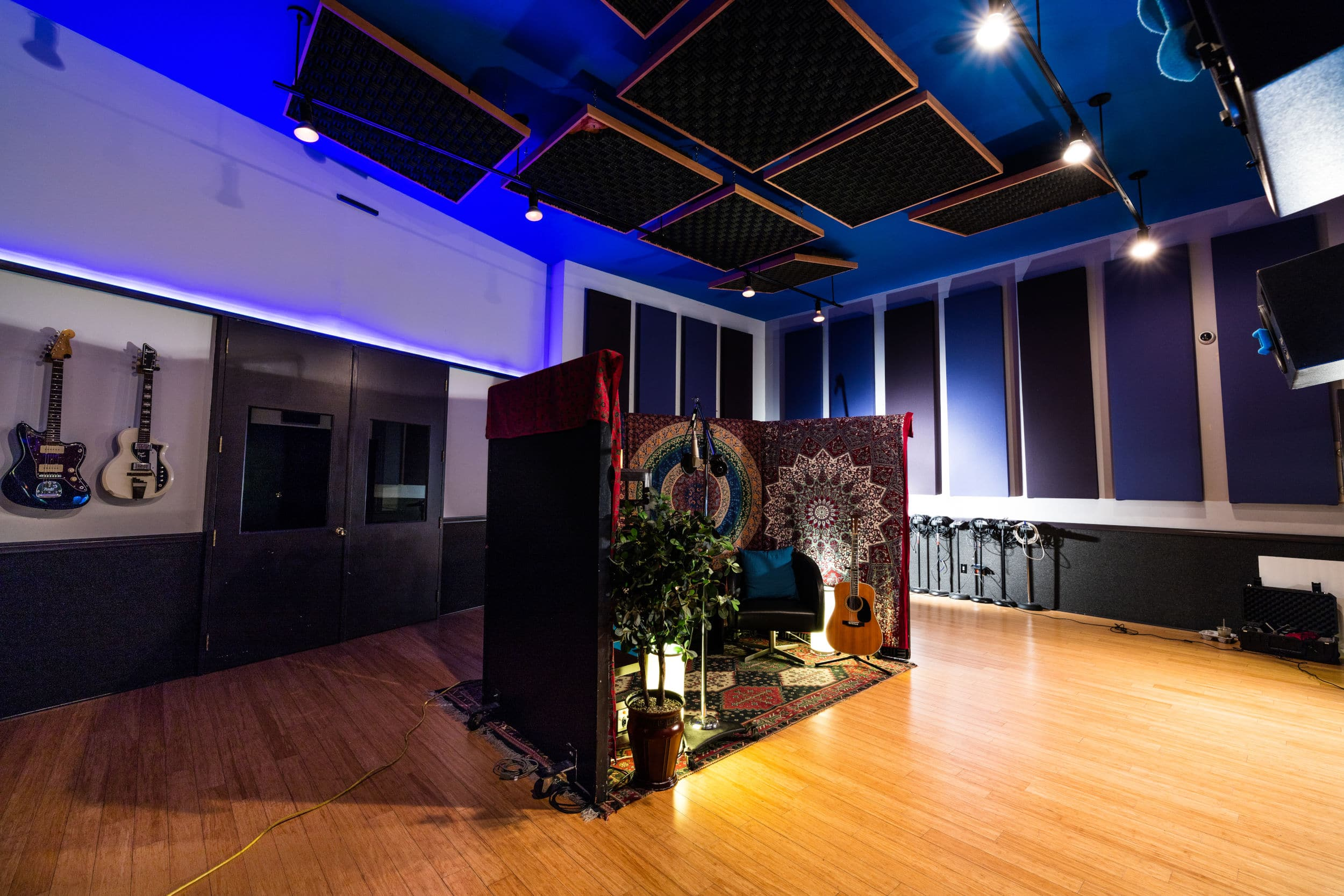 Clear Lake Recording Studio A Vocal Booth