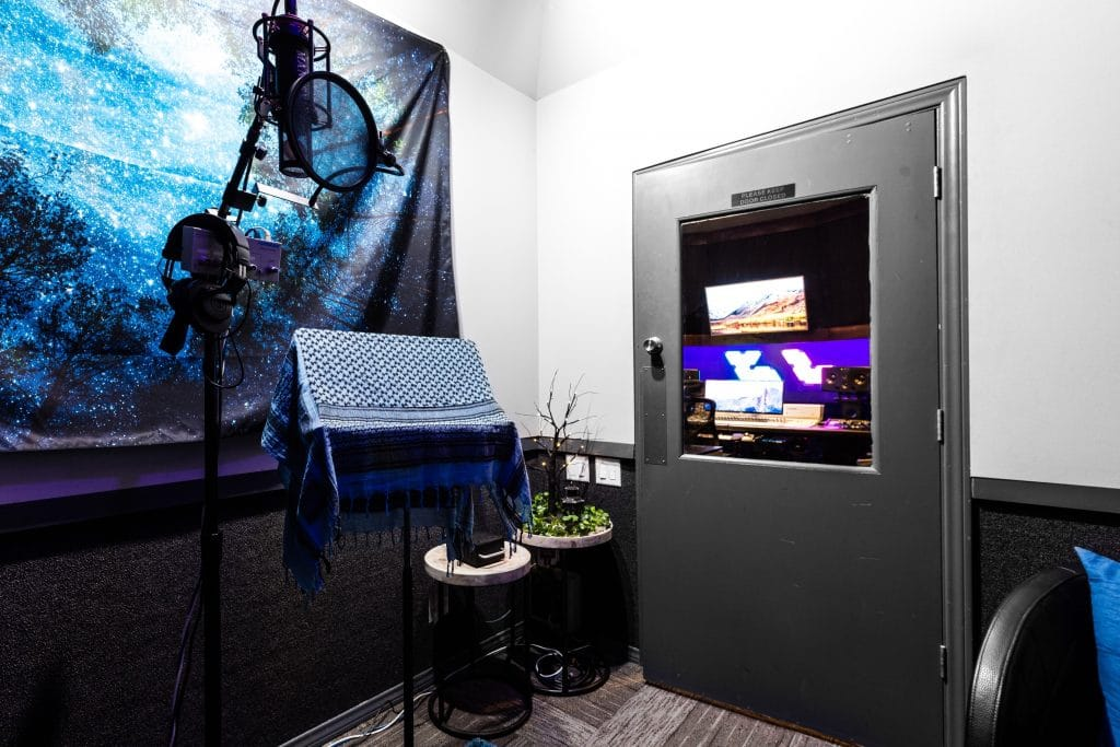 Clear Lake Studio B Vocal Booth